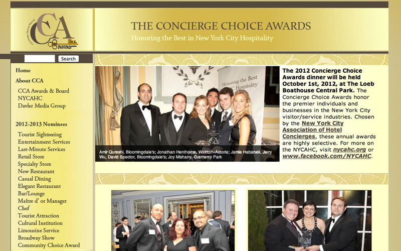 Concierge Choice Awards