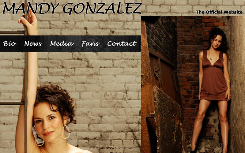 Mandy Gonzalez - Official Site